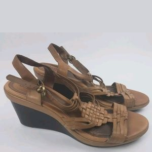 Clarks Artisan leather sandal 10